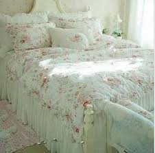 Free shipping Vintage Red Rose princess Bedding set floral cotton ... & Free shipping Vintage Red Rose princess Bedding set floral cotton girls  Duvet Cover king queen twin Adamdwight.com