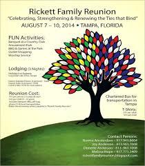 Family Reunion Poster Design 019 Template Ideas Free Family Reunion Templates Invitation