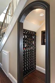 wine cellar under stairs ideas