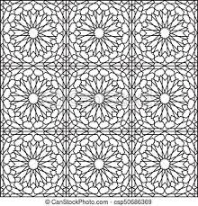 Arabesque Pattern Amazing Arabesque Star Seamless Pattern Vector