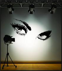 Wall Art Wall Art Sexy Giant Eyes Wall Stickers Ebay