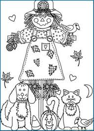 Small Picture 64 best iColor Scarecrows images on Pinterest Scarecrows