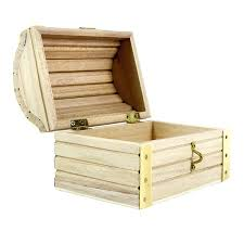 unfinished wood treasure chests large chest unfinished wood treasure chests