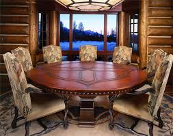 round dining room table for 8. round dining table for 8 with lazy susan kitchen amp room