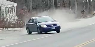 Bystander films car in police chase slam right into him | Driving