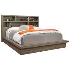 Aspenhome Modern Loft California King Platform Bed with Dual USB ...