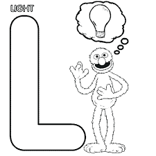 Coloring Page Letter M Coloring Page Pages Of Alphabet Words For