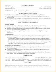 resume overview examples.functional-summary-resume -examples-jillian-colin-