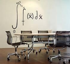 wall math art decals math