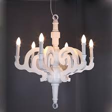 promotion d55 70 90cm white black moooi paper re wooden chandelier pendant lamp 5 6 lights e14 bulbs free