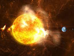 News about 'solar storm' hitting earth ...