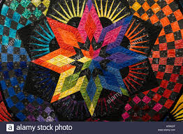 Star Quilt Pattern Stock Photos & Star Quilt Pattern Stock Images ... & quilt show Manchester NH - Stock Image Adamdwight.com