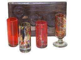 wood tray shot glasses