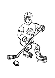 Small Picture Cool Hockey Coloring Pages 16 5070