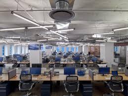 office cubicle lighting. Conde Nast Entertainment39s Rustic Open Nyc Office Cubicle Lighting