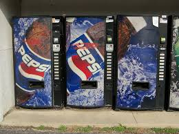 Pepsi Vending Machine Serial Number Best Triple Pepsi Vending Machine A Continuous Pepsi Graphic Sp Flickr