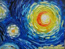 starry night reions handmade livemaster handmade oil painting with motives of vincent van gogh