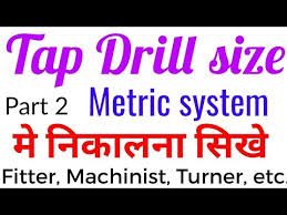 Bsp Tap Drill Chart Pdf