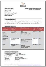 Professional Curriculum Vitae / Resume Template Sample Template Of ...