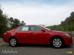 2010 Toyota Camry Hybrid in Barcelona Red Metallic - 117683 ...
