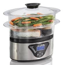 electric steam cooker. Simple Steam Best Overall Hamilton Beach Digital Food Steamer On Electric Steam Cooker L