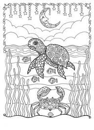 Small Picture Sea Turtle Christmas Coloring page Instant Download Digital Sea