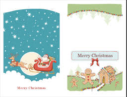 Christmas Note Template Christmas Note Cards