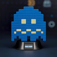 Paladone Pacman Ghost Light Paladone Lamp Pac Man Turn To Blue Ghost Icon Light 10 Cm