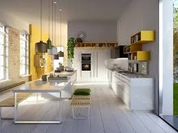 italian kitchen furniture. Sunny Accents And Minimalist Design Italian Kitchen Furniture By Snaidero K