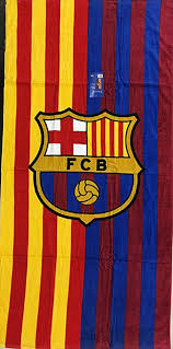 #xavi hernandez #fc barcelona #mes que un club. Amazon Com Mes Que Un Club Fc Barcelona Soccer Team Two Tone Beach Towel Home Kitchen