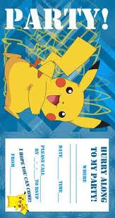 Pokemon Theme For A Kids Birthday Party Birthday Aayu Pinterest