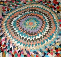 African American Quilting From Slavery to the Present & a quilt of three dimensional triangles Adamdwight.com