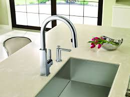 Motionsense Kitchen Faucet Why Touch Your Kitchen Faucet When You Dont Have To Moen Expands