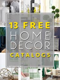 Small Picture Home Decor Catalogs Free Home Decor Catalogs Better After Plans
