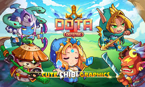 heroes of dota defense best game on ios iphone ipad ipod