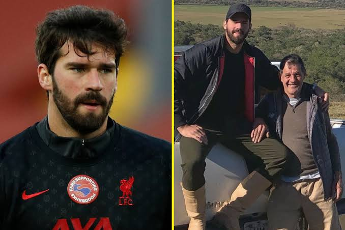 Tributes after father of Liverpool goalkeeper Alisson Becker found dead
