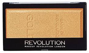 Купить <b>хайлайтер Makeup Revolution Ingot</b> Gold 12 мл, цены в ...