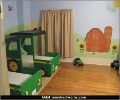 Tractor Themed Bedroom Awesome Decoration