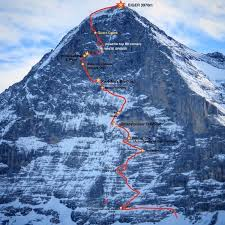 The 1936 eiger north face disaster, which began on 18 july 1936, resulted in the death of five climbers during the 1936 climbing season on the north face of the eiger. The Eiger North Face Alpine Vagabonds