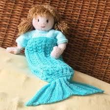 Mermaid Blanket Knitting Pattern Delectable Josie Dolls' Mermaid Blanket Knitting Pattern
