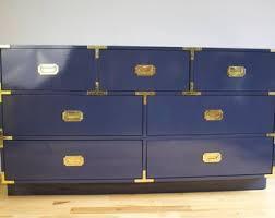 blue nursery furniture. Custom Built Campaign Nursery Furniture Blue Y