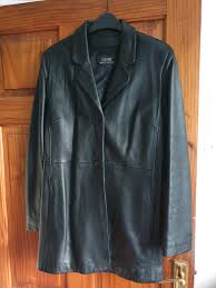 genel london leather jacket