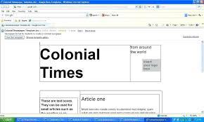 Newspaper Template Google Newspaper Template Google Docs