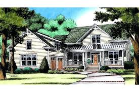 gallery house plans with front courtyard garage in farmhouse plan home ranch