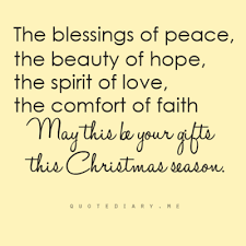 Beautiful Christmas Quote Best of The Blessings Of Peace The Beauty Of Hope The Spirit Of Love