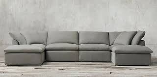 restoration hardware leather couch. Awesome Restoration Hardware Sofas Couch Within Cloud Modular Sectionals Remodel Leather Sofa