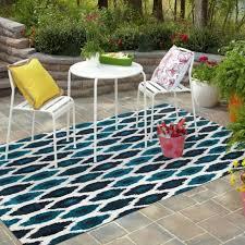 all weather outdoor floor area floor area rug blue navy