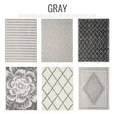 gray rugs affordable area rugs 5x7 less than 150 or 8x10 less than 200