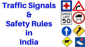 Road Safety Chart In India Traffic Signals And Safety Rules In India In Hindi And English