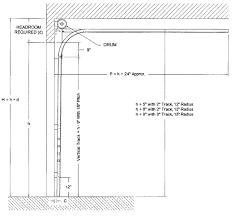garage door framingHeadroom door frame and calculation  Architects  Garaga